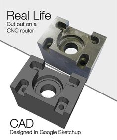 Real life vs. CAD (Computer Aided Design)    Can you spot the difference? :)