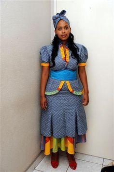 shweshwe dresses for plus size 2016
