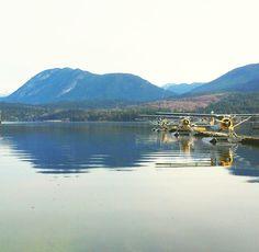 Float planes - Sechelt, Sunshine Coast, BC.