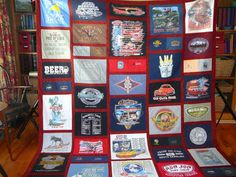 tshirt quilt on the to-do...