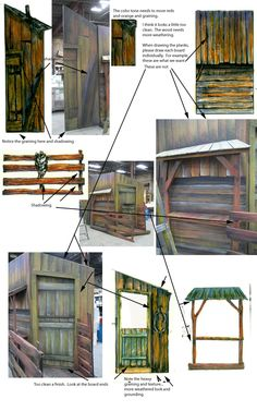 Great ideas!  Barn (or houses) in fiddler on the roof | Canopy Notes