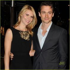 It's breaking my heart, but still i'm happy for them. :D  Claire Danes and Hugh Dancy