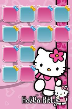 HK |❣| HELLO KITTY iPhone Wallpaper