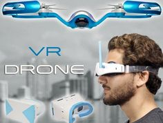 Virtual Reality Drones - The FLYBi Drone Uses Virtual Reality Goggles for Control (GALLERY)