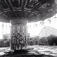 Abandoned theme park in New Orleans