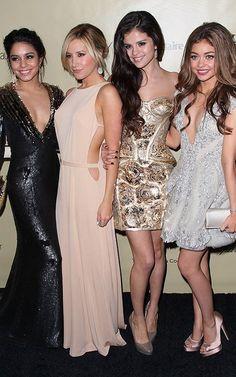 Vanessa Hudgens, Ashley Tisdale, Selena Gomez, and Sarah Hyland 2013