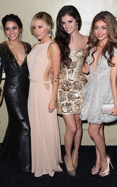 Vanessa Hudgens, Ashley Tisdale, Selena Gomez, and Sarah Hyland 2013