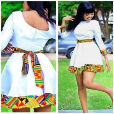 african fashion Thanks for stopping by!Appear elegant with this simplistic look! This dress is made from quality ankara fabric . Please note that the kente fabric used may differ a bi Short African Dresses, Latest African Fashion Dresses, African Print Dresses, African Print Fashion, Africa Fashion, Ankara Short Gown, Ankara Dress Styles, Ankara Fashion, African Prints