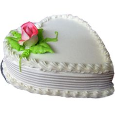 1 Kg Eggless Heart Shape Cake  Have a loved one's birthday approaching? Send a delicious, award-winning 2 Tier birthday cake