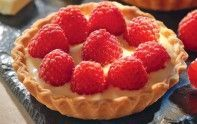 Keep Clam, French Food, Mediterranean Recipes, Biscuits, Raspberry, Berries, Cheesecake, Pie, Baking