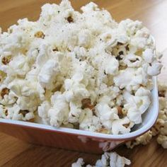 A bowl of crunchy, air-popped popcorn is one of the easiest ways to get your family eating more fiber-rich whole grains. Sprinkle with grated Parmesan for a cheesy finish kids love!