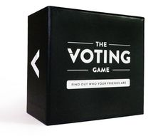 Card Game Overview The Voting Game begins when the first question card is revealed. e.g., Who would survive the longest in a zombie apocalypse? Players then vote anonymously for the player that is bes