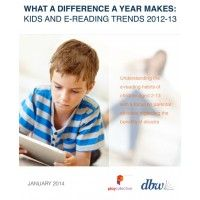 What a Difference a Year Makes: Kids and E-Reading Trends 2012-13 | Digital Book World Store