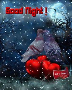 Danke Daizo💗👫 Good Night🌙g⭐ Good Night For Him, Good Night Thoughts, Good Night Prayer, Cute Good Night, Good Night Blessings, Night Love, Good Night Sweet Dreams, Good Morning Gif, Good Night Quotes