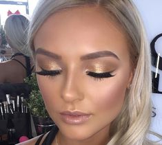 Lovely glowing bridal look