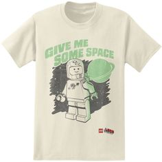 Lego Movie Give Me Some Space Shirt Cream (Small)