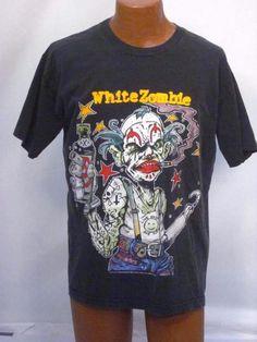 Vintage White Zombie 1995 Astro Creep Tee Shirt - XL *