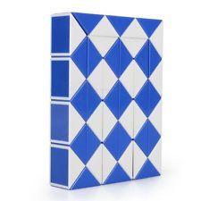 48-Wedge 2-Color Rubik's Snake / Rubik's Twist