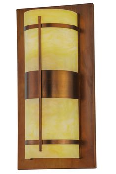 18 Inch W Manitowac Led Wall Sconce - 18 Inch W Manitowac Led Wall Sconce Theme: LODGE CONTEMPORARY ACRYLIC Product Family: Manitowac Product Type: WALL SCONCES Product Application: LED -- ONE LIGHT Color: VINTAGE COPPER/HONEY ONYX ACRY Bulb Type: MED Bulb Quantity: 2 Bulb Wattage: 7 Product Dimensions: 36H x 18W x 10.5DPackage Dimensions: NABoxed Weight: 20 lbsDim Weight: 139 lbsOversized Shipping Reference: OS3IMPORTANT NOTE: Every Meyda Tiffany item is a unique handcrafted work of art…