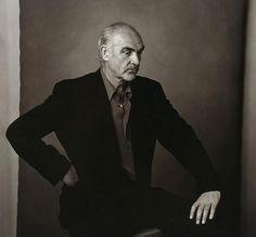 Sir Sean Connery by Annie Liebovitz, 1993, silver gelatin print, genre: Photography