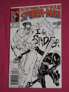 The Spectacular Spider-Man #133  Marvel Comics 1987 Kingpin Peter Parker | eBay