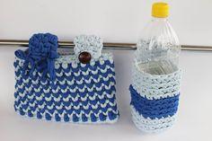 Per deambulatore, borsa unisex e porta bottiglietta d'acqua. di patrizianave su Etsy