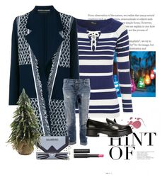"""""""Holiday Look #23"""" by flippintickledinc ❤ liked on Polyvore featuring Improvements, Jane Norman, Roland Mouret, Dsquared2, Officine Creative, Karl Lagerfeld and Le Métier de Beauté"""
