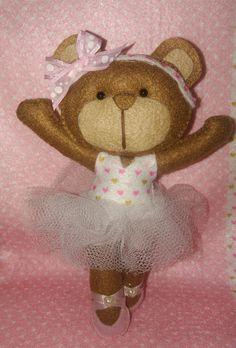 Ursa Bailarina Feltro