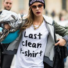 There's A Trend: The Slogan T-Shirts
