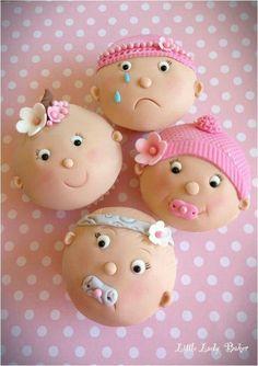 Cupcakes bebê