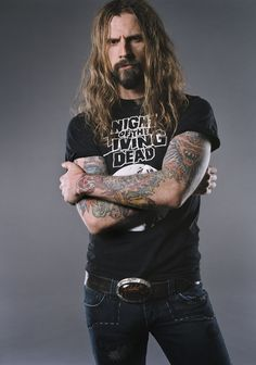 Rob Zombie. I don't care what you have to say, he is insanely attractive at this age.