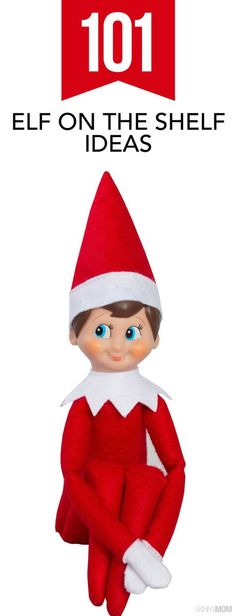 101 Elf on the Shelf Ideas - Need more ideas on how to place your little elf this year? Check these out!