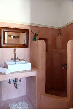 somewhere in greece - bathroom