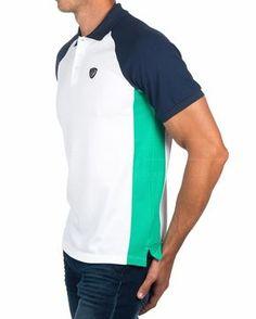 Polo Shirt EA7 EMPORIO ARMANI © White Tennis | BEST PRICE Polo Rugby Shirt, Polo T Shirts, Boys Shirts, Camisa Polo, Armani White, Boys Designer Clothes, Polo Shirt Design, Women's Cycling Jersey, Men's Wardrobe