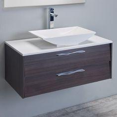 Eviva Zenvi 39 in. Single Sink Bathroom Vanity Set - EVVN01-39GOK