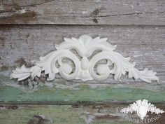 This beautiful ornate Scrolls with Fleaur De Lis are a very impressive addition not only to fireplaces, but on mirrors, doors, just about anywhere! http://www.chicmouldings.com/shop/shabby-chic-medium-ornate-scroll-fleur-de-lis