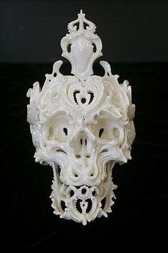 Vanité en porcelaine crée par KATSUYO AOKI