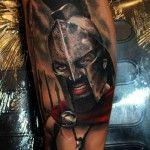 Gerard Butler Spartan Tattoo | Tattoo Ideas