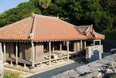 Takara's house in Okinawa Geruma Island