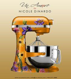 Kitchen Aid Mixer Un Amore By Nicole Dinardo