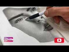 #realistic #drawing drawing and shading with Graphite & charcoal pencils-رسم وتظليل بالفحم والرصاص - YouTube Artsy, Drawings, Photography, Painting, Kunst, Photograph, Fotografie, Painting Art, Sketches