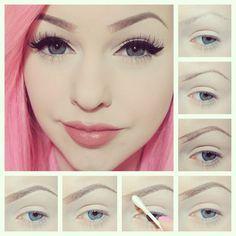 creatividad...: cejas makeup