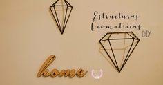 Blog de Magu ♚: ♔ DIY - Estructuras geometricas para decorar / fridiy ☆
