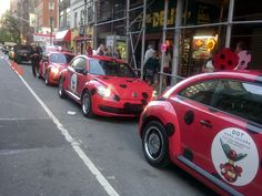 The DOT Beetles in NYC #MARCtheDOT