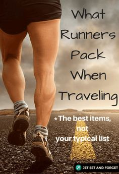 Do you like to run when you travel but are not sure of what to pack? This guide will give you the best of what runners pack when traveling. #running #packing #travelaccessories
