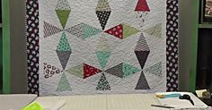 If you made the Pennant Quilt and have leftover wedges, we\'ve got the perfect follow up project for you