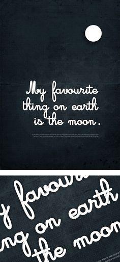 The moon ♥