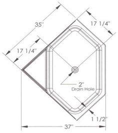 corner bathtubs dimensions   Corner Bathtub Dimensions Standard ...