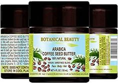 ARABICA COFFEE SEED BUTTER 100 % Natural / 100% PURE BOTANICALS. VIRGIN/ UNREFINED BLEND. Cold… Review