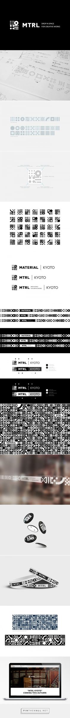 MTRL KYOTO | New Identity on Behance - created via http://pinthemall.net